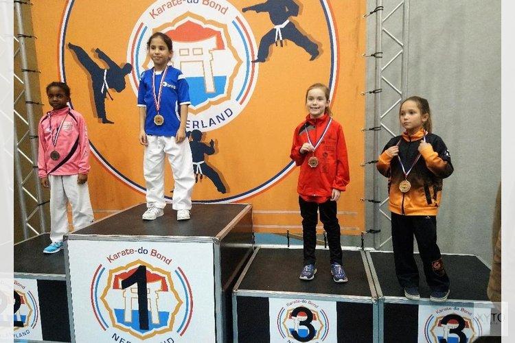 Uitslagen Choku-Gym op de Nederlandse Kampioenschappen Karate 2018 –  Zaandamsdagblad.nl